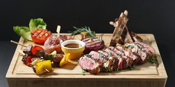 Grilled Australian Wagyu Beef Tomahawk M5 with Seasonal Vegetables and Roasted Potatoes, Cucina, Tsim Sha Tsui, Hong Kong