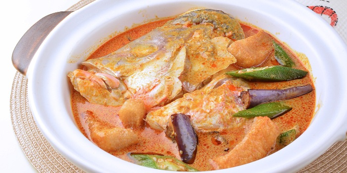 Curry Fish Head from A*MUSE Social Gathering in Outram, Singapore