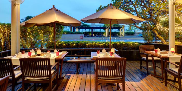 Dining Area of Terrazza Italian Restaurant at Pathumwan Princess Hotel G floor, 444 MBK Center Phayathai Road Wangmai, Pathumwan Bangkok