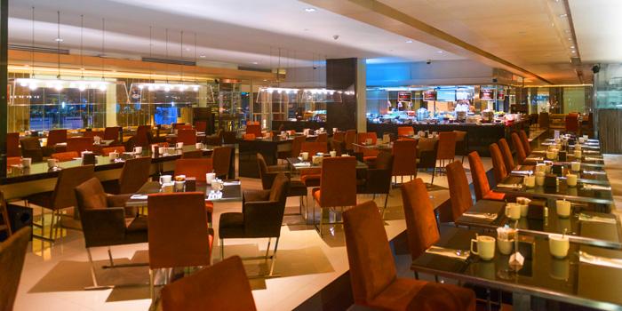 Dining Area of CITI Bistro at Pathumwan Princess Hotel G floor, 444 MBK Center Phayathai Road Wangmai, Pathumwan Bangkok