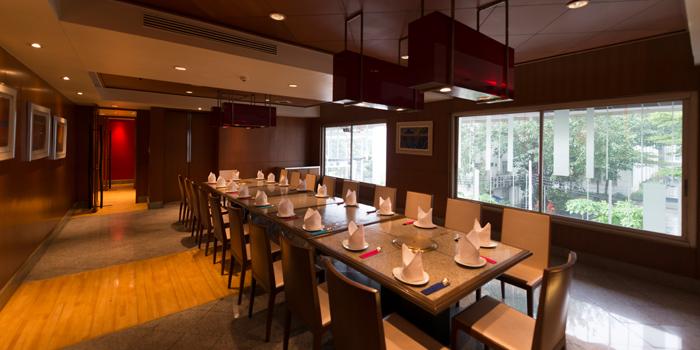 Dining Area of Kongju Korean Restaurant Pathumwan Princess Hotel 444 MBK Center Phayathai Road Wangmai, Pathumwan Bangkok