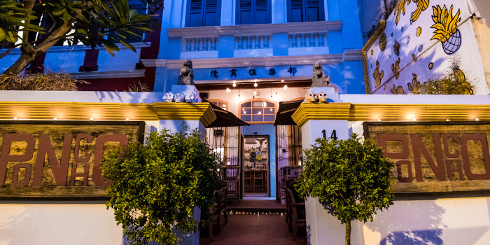 Exterior 2 from Casa Poncho in Bukit Pasoh at Outram, Singapore