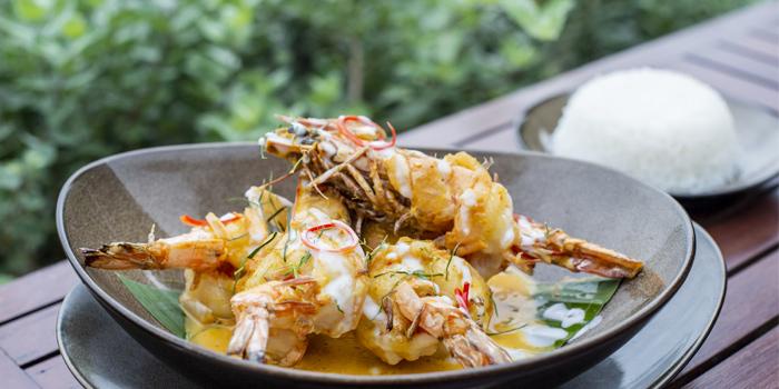 Food from Rock Salt in Nai Harn, Phuket, Thailand.
