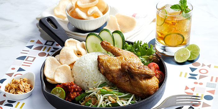 Ayam Gecok at Relish Bistro