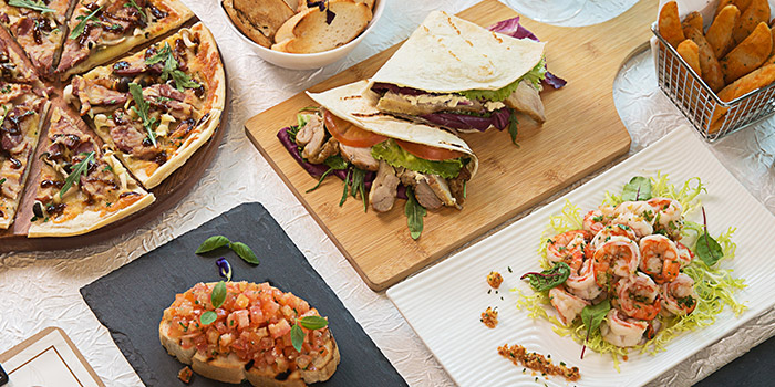 Food Spread from Revel Bistro & Bar at Marina Square in City Hall, Singapore