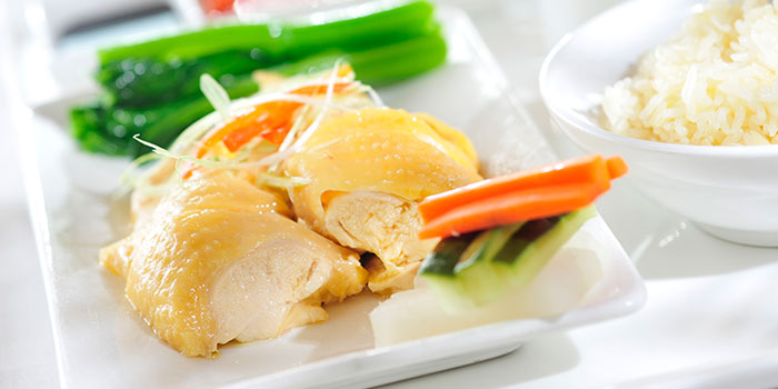 Hainanese Chicken with Rice, add@Prince, Tsim Sha Tsui, Hong Kong