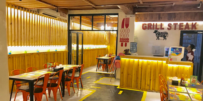 Interior 1 at Street Steak, Kelapa Gading