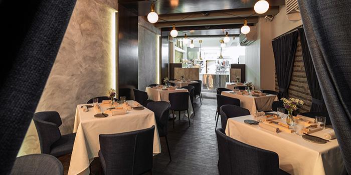 Dining Area of Restaurant JAG in Tanjong Pagar, Singapore
