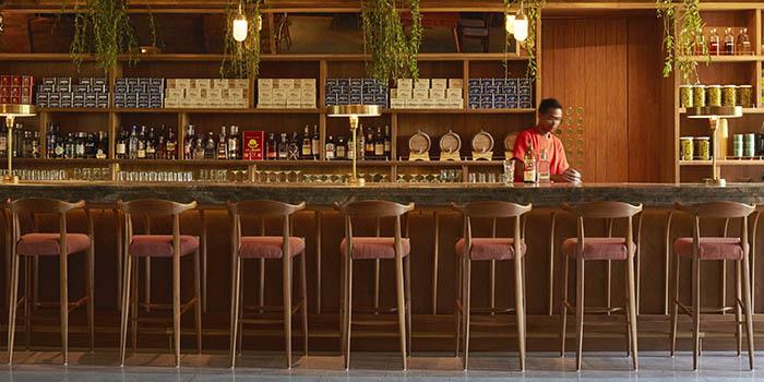 Bar from Katamama Restaurant, Seminyak, Bali