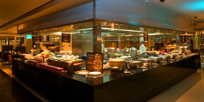Kitchen Area of CITI Bistro at Pathumwan Princess Hotel G floor, 444 MBK Center Phayathai Road Wangmai, Pathumwan Bangkok