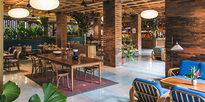 Interior from Katamama Restaurant, Seminyak, Bali