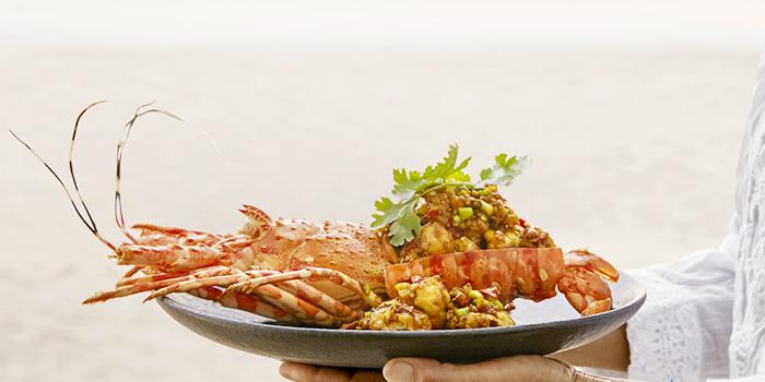 Mongone-Prik-Gleu from Sea Food at Trisara in Cherngtalay, Phuket, Thailand