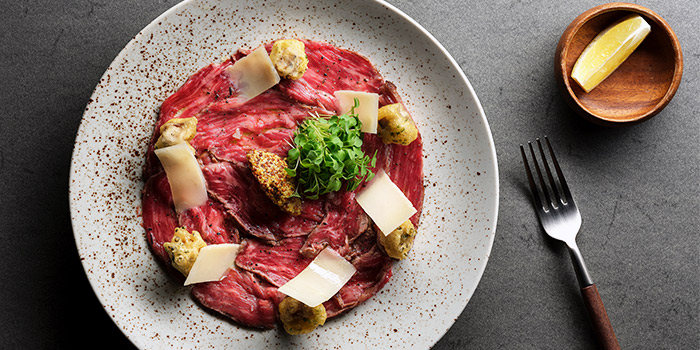 Beef Carpaccio from La Strada at Shaw Center in Orchard, Singapore