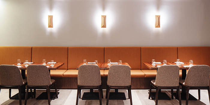 Interior of La Strada at Shaw Center in Orchard, Singapore