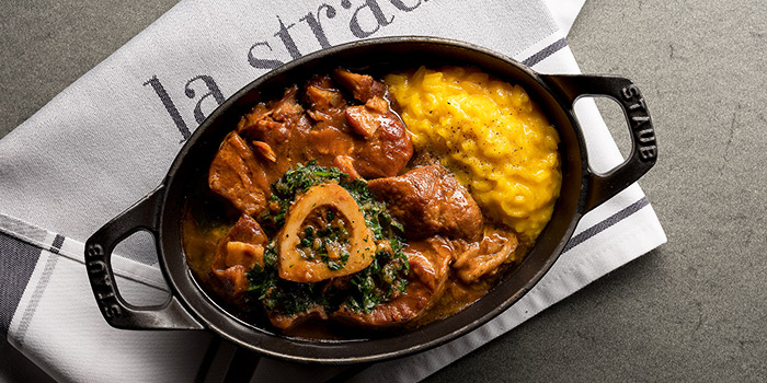 Ossobuco from La Strada at Shaw Center in Orchard, Singapore