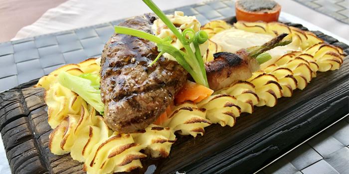Plank Steak  from Mamma Mia in Bangtao, Phuket, Thailand.