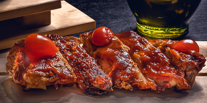 Pork Ribs from Cali, Park Avenue Rochester Hotel at Park Avenue Hotel in Rochester, Singapore