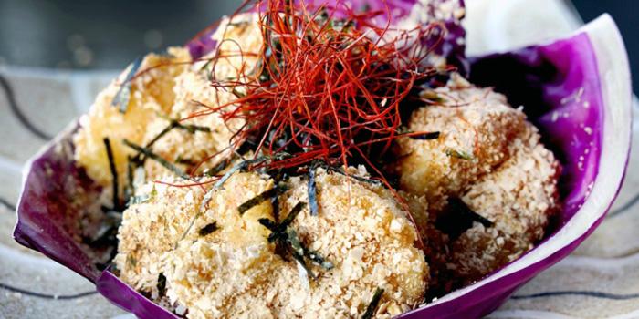 Prawn Wasabi from Kinki Restaurant in Collyer Quay, Singapore
