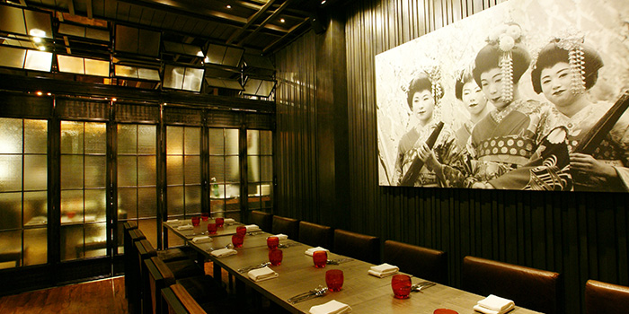 Private Room from BAM! Restaurant on Tras Street in Tanjong Pagar, Singapore
