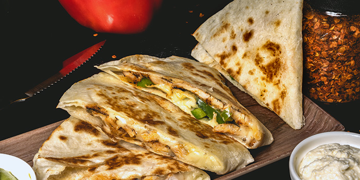 Quesadilla from Cali, Park Avenue Rochester Hotel at Park Avenue Hotel in Rochester, Singapore