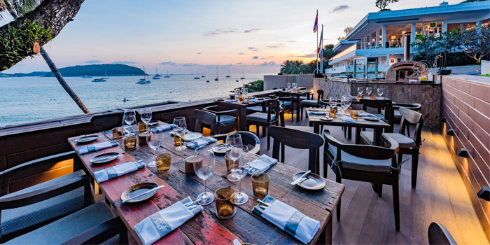 Restaurant-Ambiance of Prime at The Nai Harn, Phuket, Thailand.