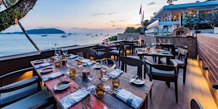 Restaurant-Ambiance of Prime at The Nai Harn, Phuket, Thailand.