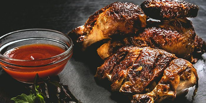 Roasted Spring Chicken from Cali, Park Avenue Rochester Hotel at Park Avenue Hotel in Rochester, Singapore