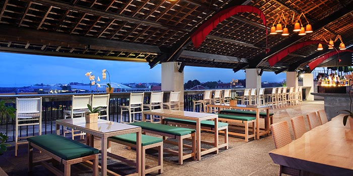 Vibes from U Paasha Rooftop Bar, Seminyak, Bali