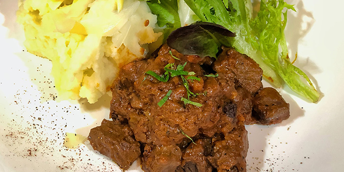 Beef Goulash from Alvin's in Bukit Timah, Singapore