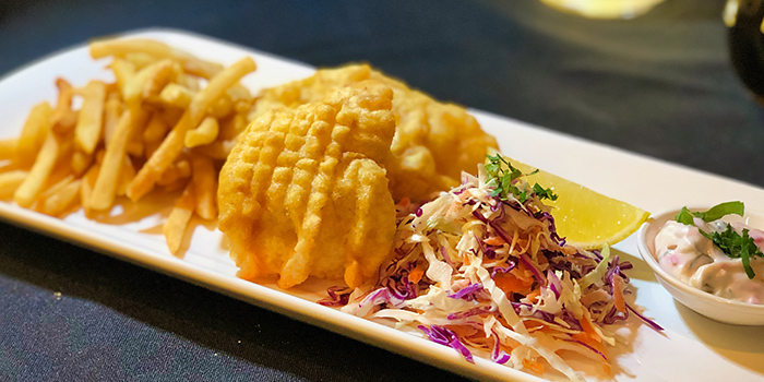 Fish & Chips from Alvin's in Bukit Timah, Singapore