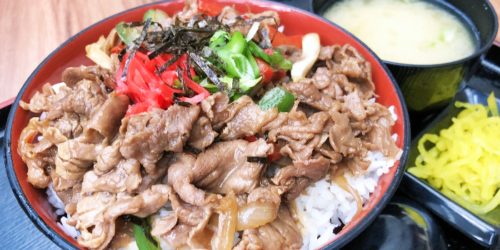 Gyu Don from Beppu Menkan Restaurant at China Square Central in Chinatown, Singapore