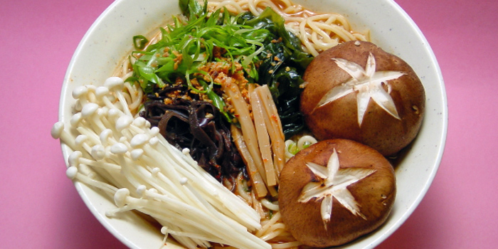 Mushroom Ramen from Beppu Menkan Restaurant at China Square Central in Chinatown, Singapore