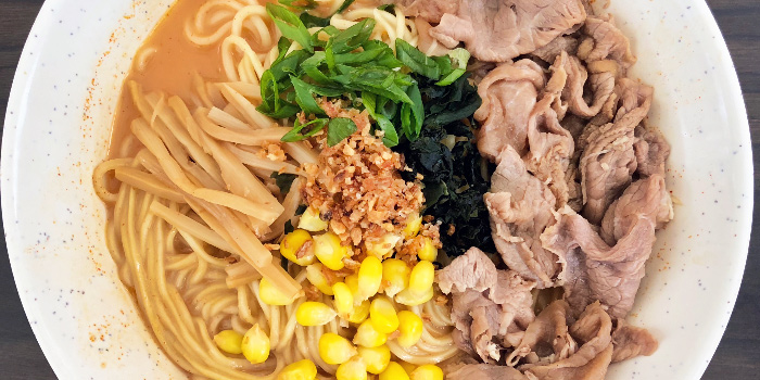Sliced Beef Ramen from Beppu Menkan Restaurant at China Square Central in Chinatown, Singapore