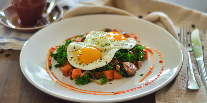 Kale & Sweet Potato Hash from Cedele All-Day Dining (Great World City) in River Valley, Singapore