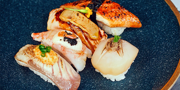 Aburi Nigiri from Chi Kinjo in Telok Ayer, Singapore