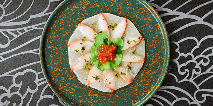 Hamachi Carpaccio from Chi Kinjo in Telok Ayer, Singapore