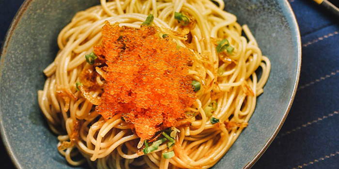 Chinese Noodles with Crispy Ebi from Eliza in Telor Ayer, Singapore