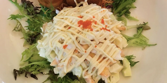Fruity Lobster Salad with Salmon Roe from Goldenbeach Seafood Paradise at SpringVale in East Coast, Singapore