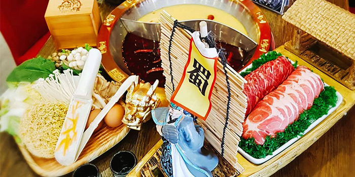 Steamboat Platter from Hotpot Heroes 火鍋英雄 in Tanjong Katong, Singapore