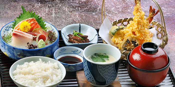 Business Choice Lunch from Ishinomaki Grill & Sake (Palais Renaissance) in Orchard, Singapore