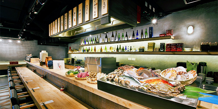 Robata Counter from Ishinomaki Grill & Sake (Palais Renaissance) in Orchard, Singapore