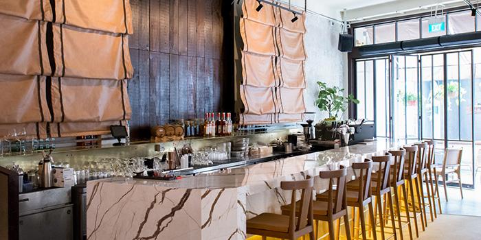 Bar Counter of Kilo Kitchen in Duxton, Singapore
