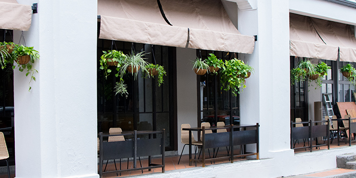 Exterior of Kilo Kitchen in Duxton, Singapore