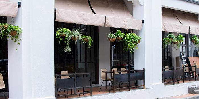 Exterior of Kilo Kitchen in Duxton, Singapore