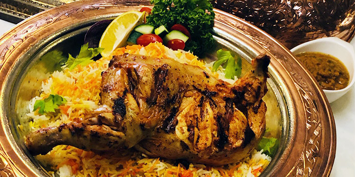Chicken Kabsa from Lubnan Authentic Lebanese Cuisine in Bugis, Singapore