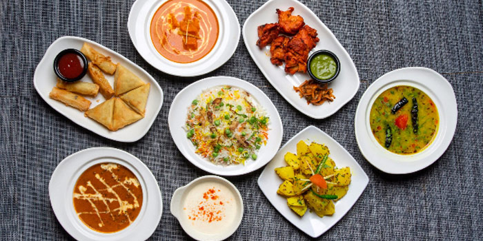 Food Spread from Maya
