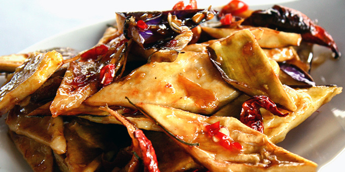 Brinjal Delight from New Ubin Zhongshan Park at Ramada by Wyndham Singapore At Zhongshan Park in Balestier, Singapore