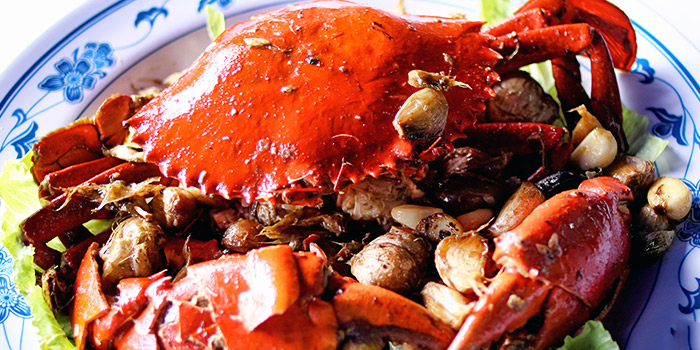Garlic Baked Crab from New Ubin Zhongshan Park at Ramada by Wyndham Singapore At Zhongshan Park in Balestier, Singapore