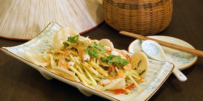 Green Papaya Salad with Prawns from Paper Rice Vietnamese Kitchen in Changi, Singapore