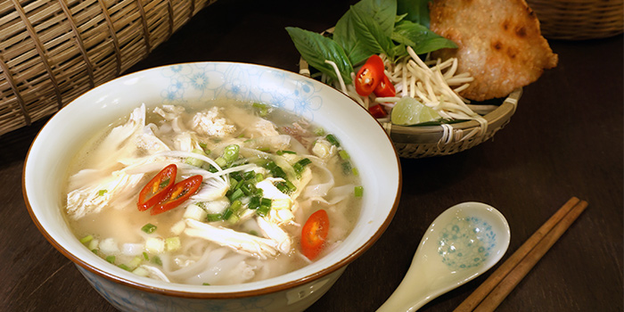 Chicken Pho from Paper Rice Vietnamese Kitchen in Changi, Singapore